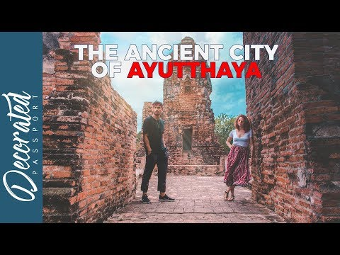 THE ANCIENT CITY OF AYUTTHAYA IN THAILAND (TRAVEL VLOG)