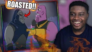 THANOS SNAPS ON DARKSEID! | Darkseid Vs Thanos - Cartoon Beatbox Battles Reaction!