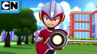 Mega Man: Fully Charged | Mega Man vs. Fire Man | Cartoon Network