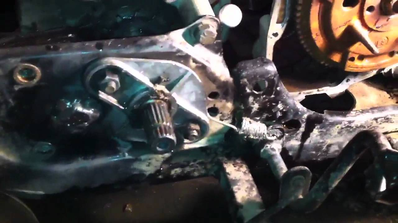 1997 Polaris 400 Rear Axle Bushings Amp Starter Work Youtube