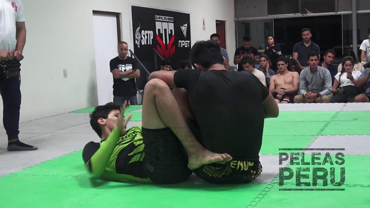 Oscar Ravello vs Marcelo Gonzales. SOS 2. Intermedio +77kg. Submission fight.