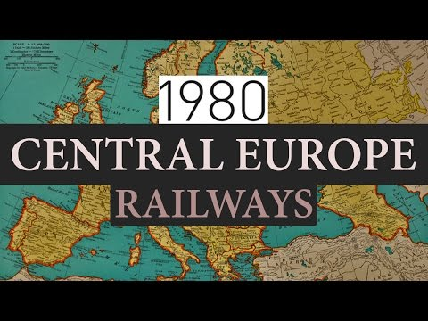 Central Europe Railways 1980