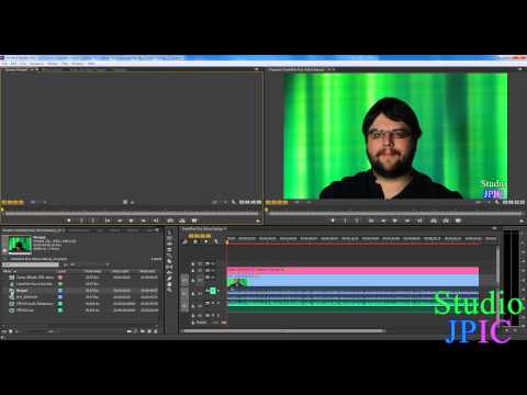 Automatically synchronize audio and video files in Adobe Premiere Pro CC based on audio waves