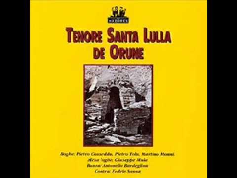 Download Tenore Santa Lulla De Orune - Mi So Domanne Trattesu