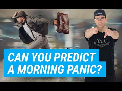 Trading Patterns Prediction: Can You Predict A Morning Panic?