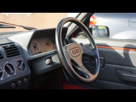 Interior Review - 1990 Peugeot 205 GTi 1.6
