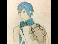 Speed Art #14 - Chrom Watercolor [Fire Emblem: Awakening]