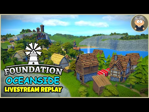 Upscale 🌴 Oceanside Livestream Replay - Foundation Gameplay - #12