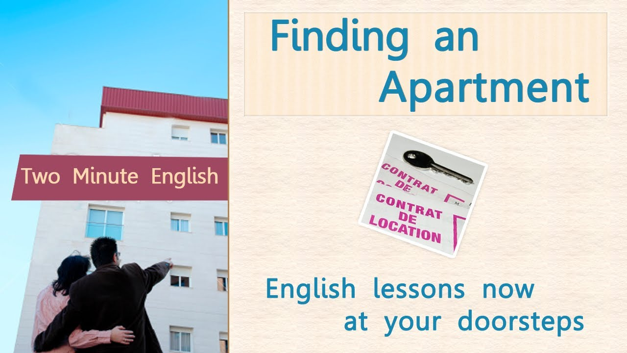 Finding An Apartment   Improve Your Communication Skills   English Language  Lesson   YouTube