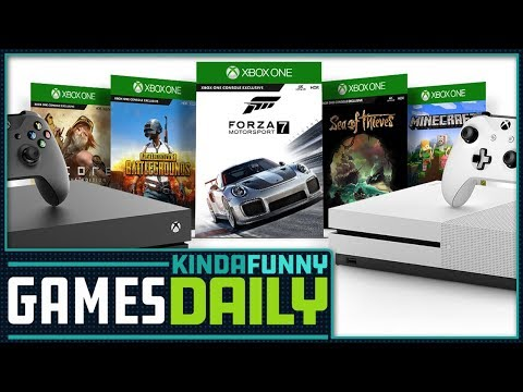 Wanna Lease an Xbox One? - Kinda Funny Games Daily 08.23.18