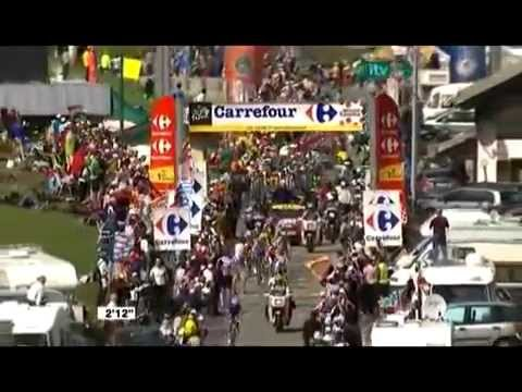 Lance Armstrong Moving up, Mikel Astarloza victory! Tour de France 2009 stage 16 Bourg Saint Maurice