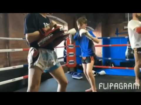 Joe Ryan Muay Thai Training