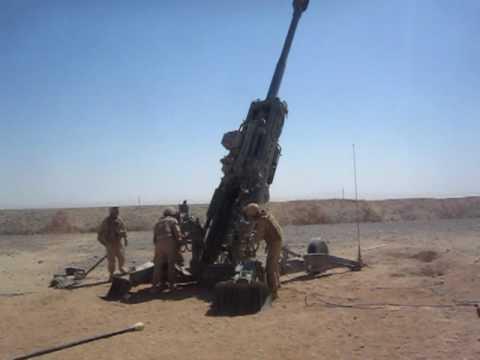 M982 Excalibur In Combat Afghanistan 2009..