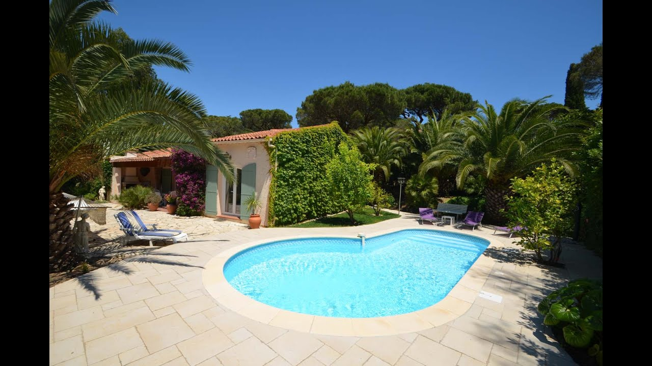 Ferienhaus mit privatem pool in les issambres provence villa mit pool und am meer in var - Formentera ferienhaus mit pool ...