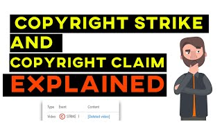 What is Copyright Strike ? Copyright Strike Vs Claim ! FAQ