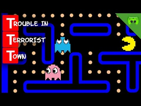 PAC-MAN 🎮 Trouble in Terrorist Town #288