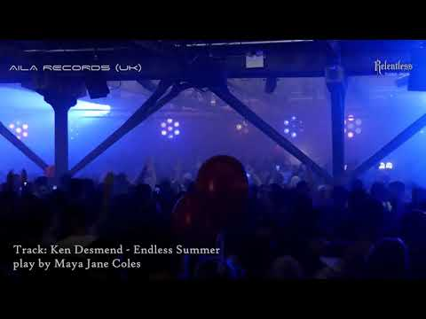 Ken Desmend - Endless Summer  playing  by Maya Jane Coles (Drumcode Halloween London)
