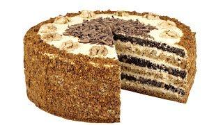 """Медовый торт """"Домашний"""" Без раскатывания коржей"""