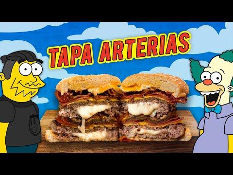 HAMBURGUESA TAPARTERIAS de Los Simpsons | El GUZII