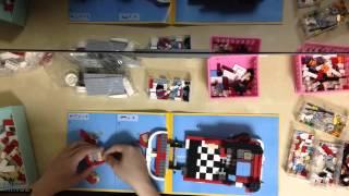 Volkswagen T1 Camper Van - Lego Timelapse Build
