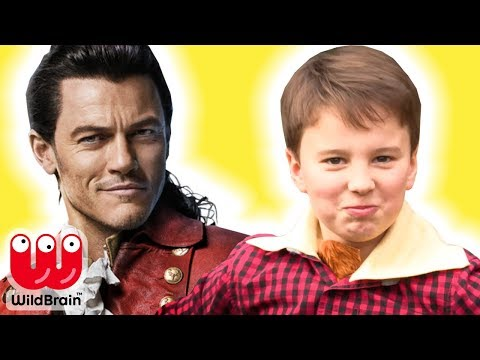 How To Make A Gaston Costume | Beauty And The Beast Disney Characters Gaston 🎨 Crafty Kids