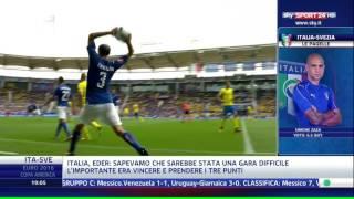 Italia - Svezia 1-0 - Highlights euro 2016