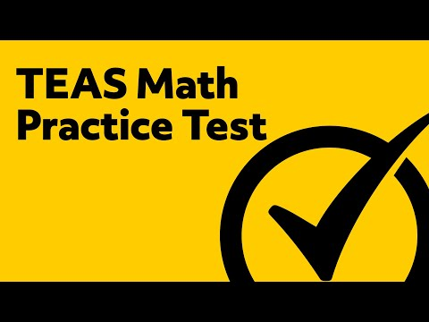 image relating to Printable Teas Practice Test named Free of charge TEAS Attempt Math Prepare Try - YouTube