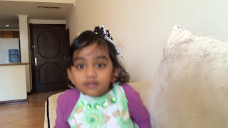 Indian 4 Years Kid answering GK questions