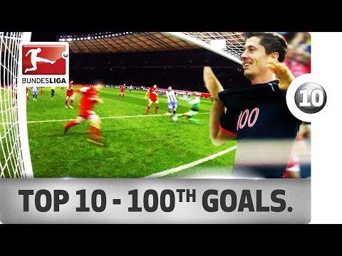 Top 10 - 100th Bundesliga Goals