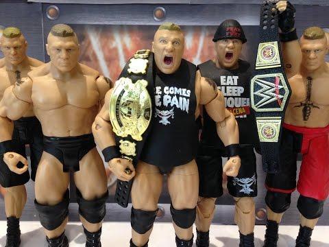WWE Mattel action figure ELITE WRESTLEMANIA FLASHBACK BROCK LESNAR Wrestling UFC
