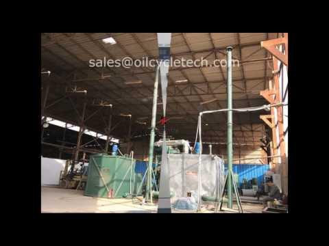 BOD Waste Oil Vacuum Distillation Machine, Waste Oil Recycling, Waste Oil Re refining Machine