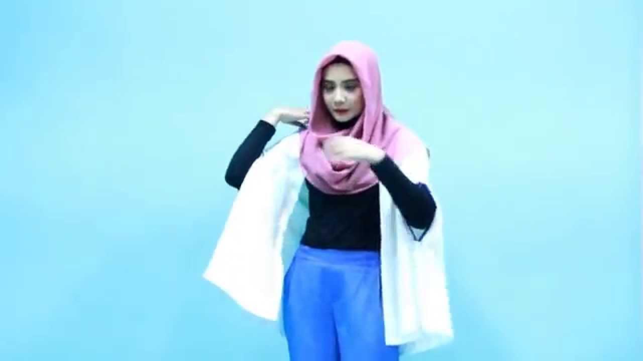 Tutorial Hijab Zaskia Sungkar Praktis Ke Kantor YouTube