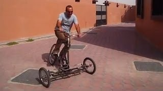 Leaning Reverse Trike In Action