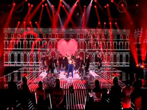 Leona Lewis - Collide - Live on Red or Black