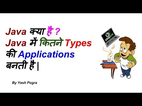 What is Java |  Types of java applications in hindi | yash pogra | Lecture 2