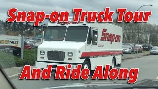SNAP-ON TRUCK VISIT #1 MUST SEE!