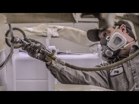 Our Industrial Painter Gives How To Tips For Painting Heavy Equipment In Paint Booth!