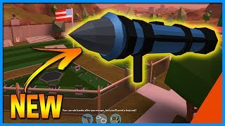 🔴TWO NEW ITEMS! Rocket Launchers are coming to #Jailbreak | Roblox Jailbreak NEW UPDATE Coming