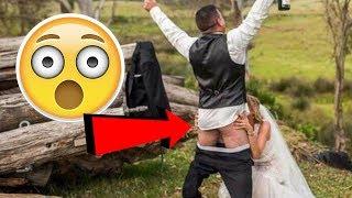 27 Идиотских Свадебных Фотографий | Фейлы на Свадьбах