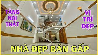 Bán nhà Gò Vấp | 441] Căn nhà 4 lầu tuyệt đẹp khu Vip Quang Trung chủ kẹt tiền bán lỗ tặng nội thất