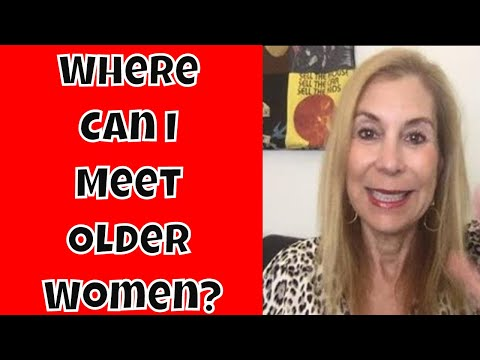 Where Can I Meet Hot Older Women - Cougars? - 동영상