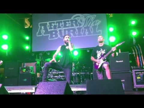After The Burial - Lost In The Static Live in Jacksonville