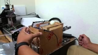Ping Pong Lev Mark II Initial Testing