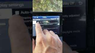 كيفية ضبط ارتفاع وانخفاض إضاءة الشاشة الرئيسية