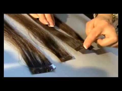 Как снять волосы после наращивания