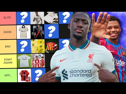 WE RANKED YOUR CLUBS LEAKED KITS (DISGUSTING!)