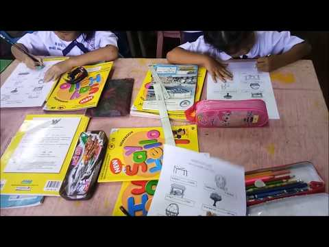 English teaching Pratom 1 in on under New Project