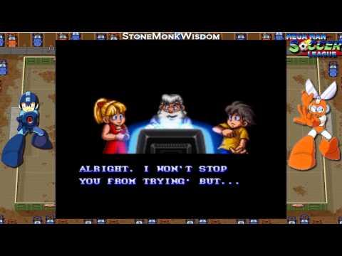 Mega Man Soccer [Part 1] - Capcom Championship, Cut Man Field | StoneMonkWisdom