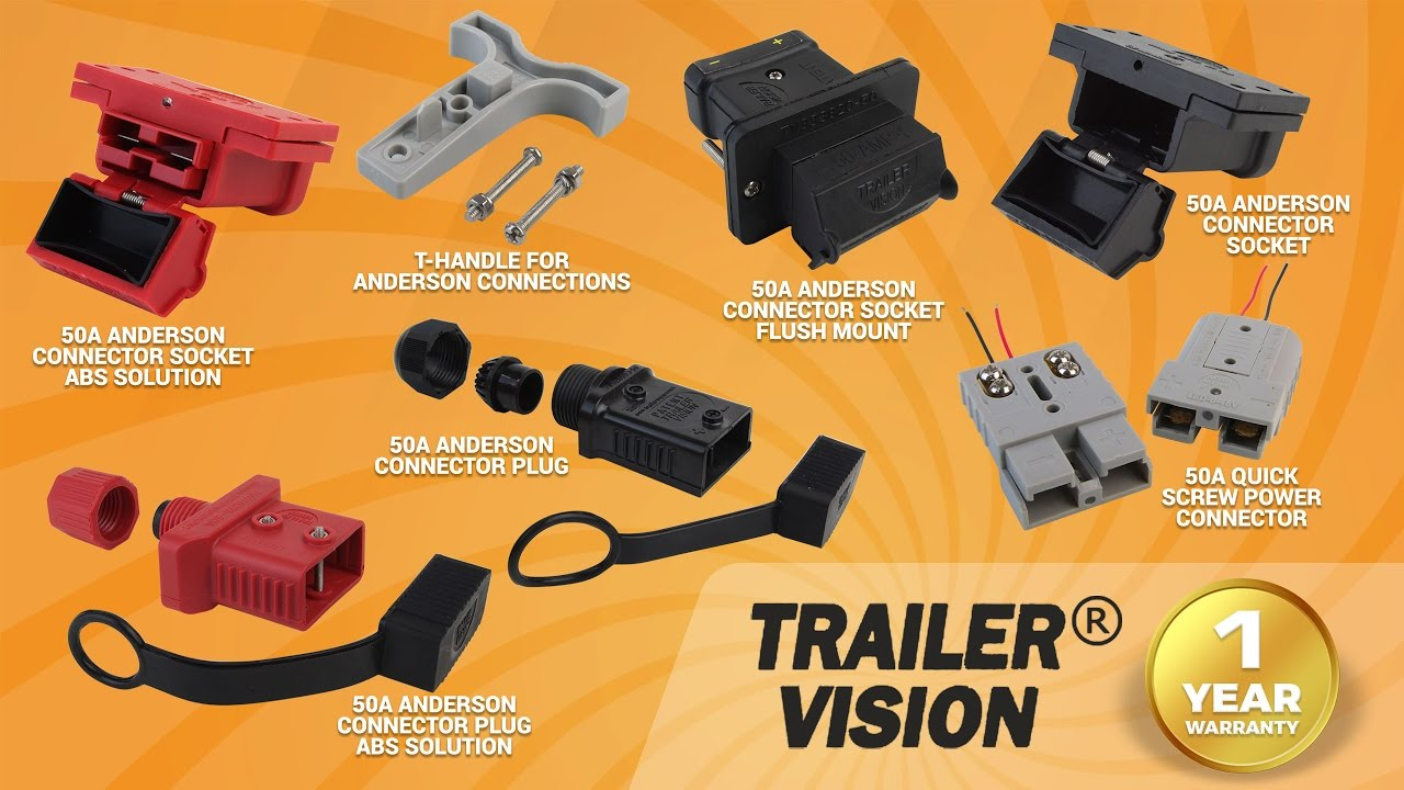 The Ultimate Anderson Connection With Trailer Vision Youtube Plug Wiring