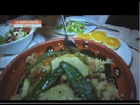 Sopa perota de Álora (Málaga)